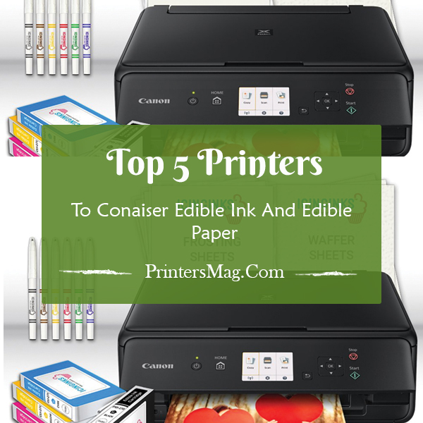 graphic regarding Edible Printable Paper for Cakes identified as Printers with Edible Ink and Edible Paper - Printers Journal
