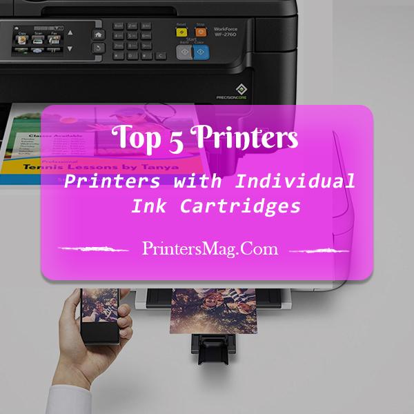 Printers with Individual Ink Cartridges - Printers Magazine